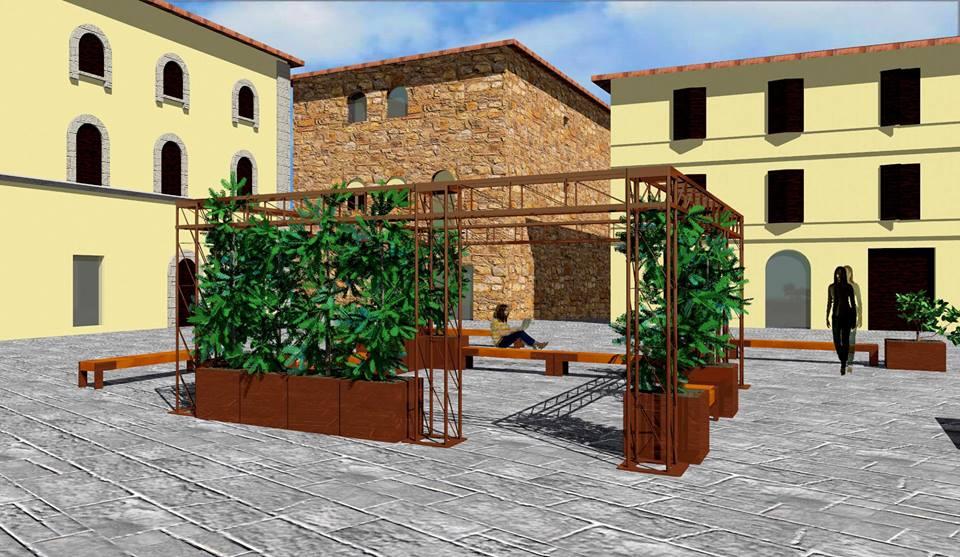 Progetto Di Arredo Urbano.Arredo Piazza Torre Di Berta Via Libera Al Progetto